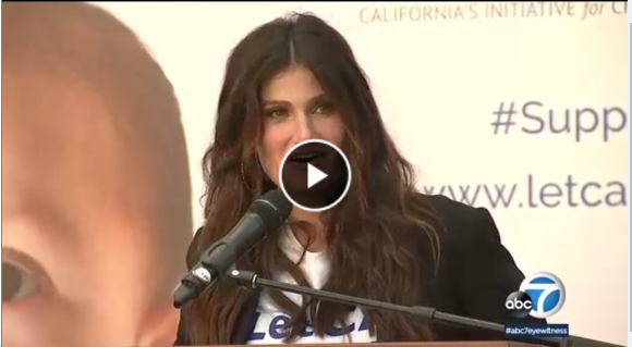 Idina Menzel Backs Measure to Give Kids Access to Hearing Aids