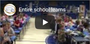 Entire School Learns Sign Language to Support Deaf Kindergartner
