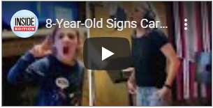 Deaf 8-Year-Old Signs Carrie Underwood's 'The Champion'