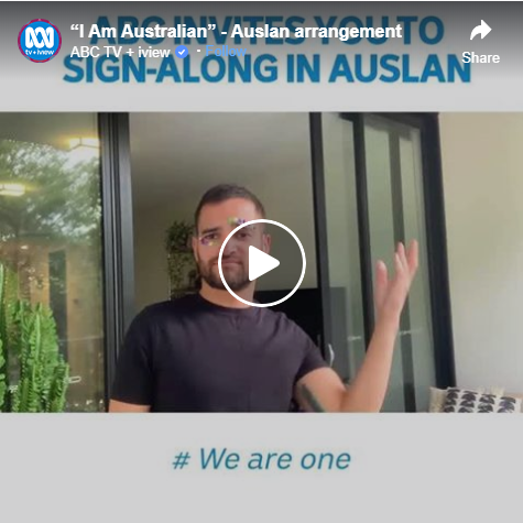 Australians Raise Accessibility Awareness With Sign Language Video