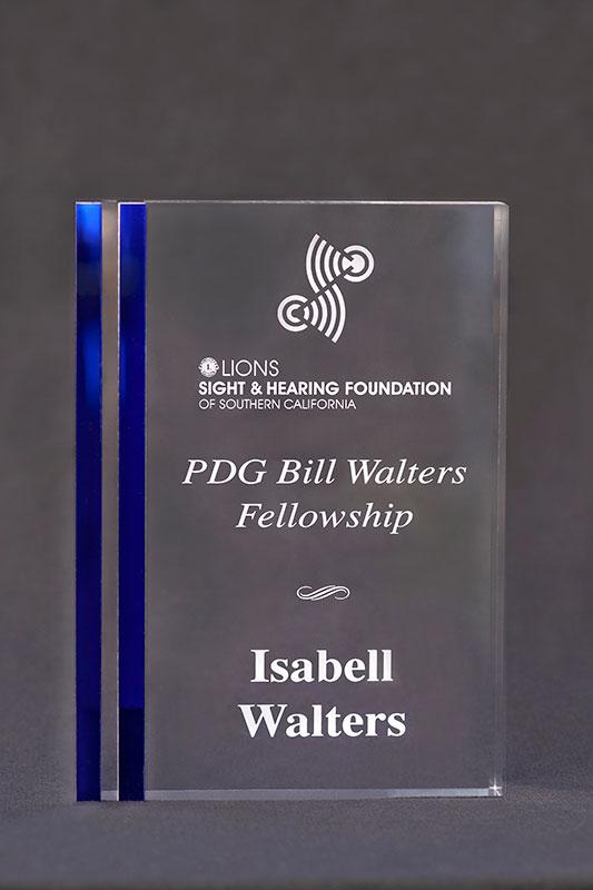 Bill Walters Award LSH