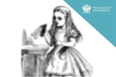 College of Optometrists Publishes Blurred Version of 'Alice in Wonderland'