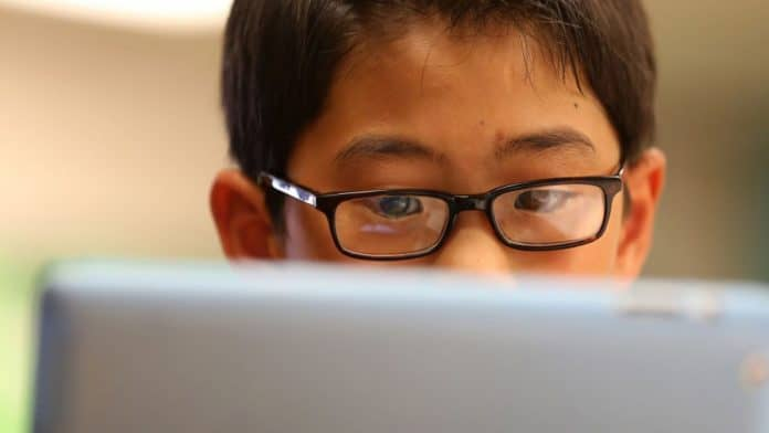 To Protect Kids' Eyesight, China Calls for Less Work and More Play