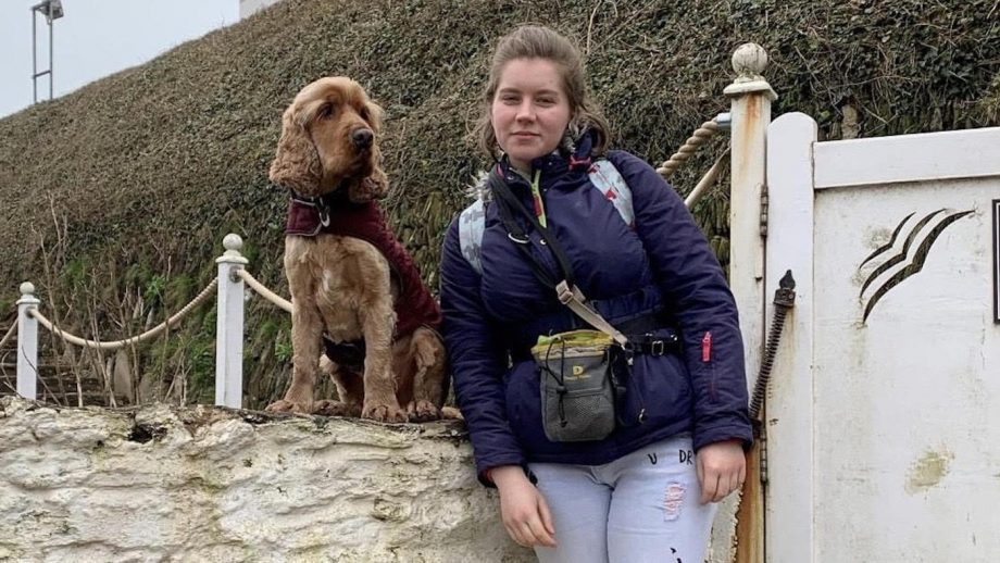 Deaf Equestrian Student Thrives Thanks to Her Hearing Dog