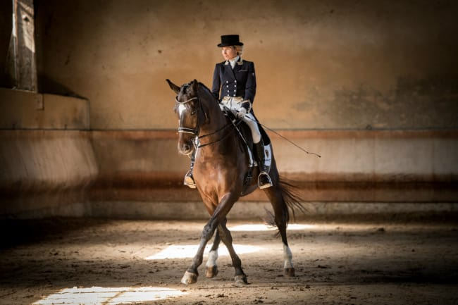 Blind Rider Hopes for an Olympic Medal