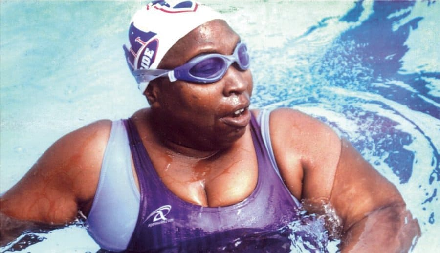 Blindness and Fear Didn't Stop Her From Becoming a Star Swimmer