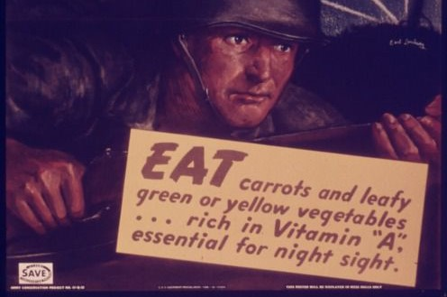 World War II Propaganda Pushed Myth That Carrots Improve Night Vision