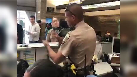 CHP Officer Steps in to Help Deaf Woman at DMV