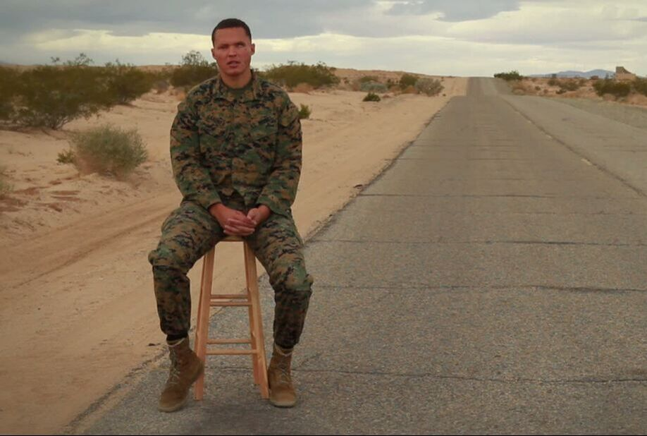 Blinded by a Bomb, Marine Continues to Serve