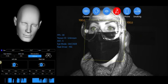 Technology Can Now Monitor Drivers Wearing Masks