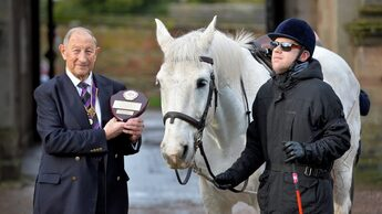 Blind, Deaf Rider Invents Device to Help Him Navigate on Horseback